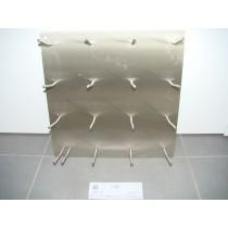 VA - Armaturenblech 500 x 500 mm