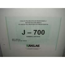 Filterschichten Jpor 700