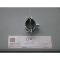 Zweischrauben - Schelle Verzinkt 40 - 45 mm