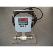 Magnetisch induktiver Durchflusszähler aus Edelstahl