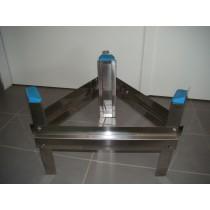 Edelstahl - Untergestell zu Immervolltank